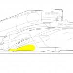 Sauber's post Silverstone sidepod upgrade